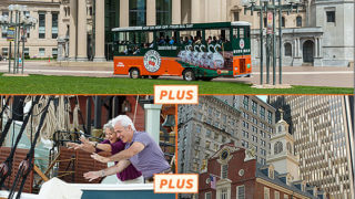 2-day boston trolley/tea party package
