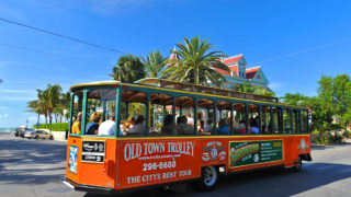 key west old town trolley