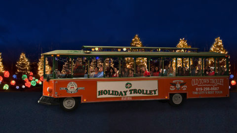 holiday trolley