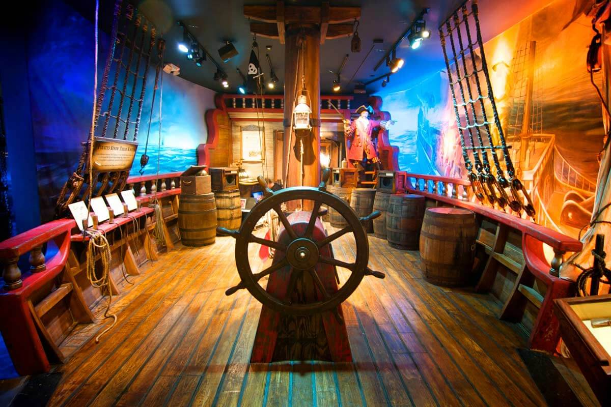 Pirate Treasure Museum St Augustine Information Guide - Pirate museums in the us