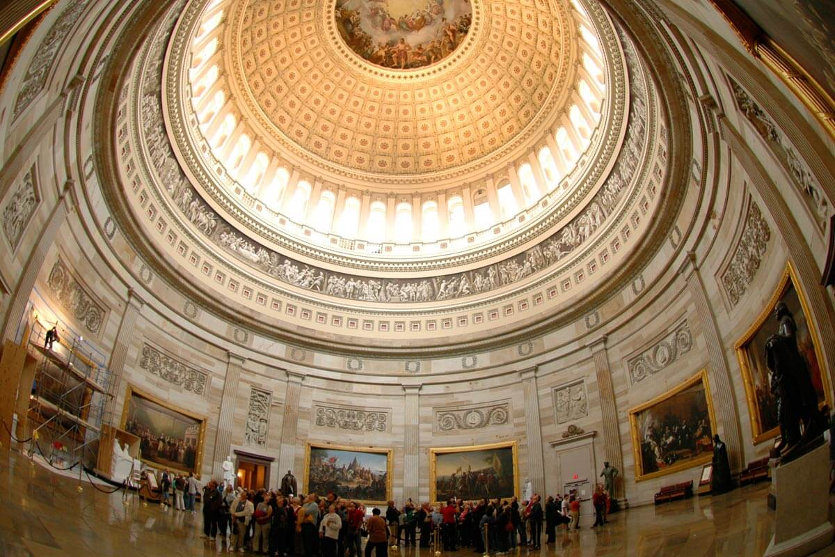 Things To Do In Washington DC On Vacation Downtown Washington DC - Washington dc capitol map