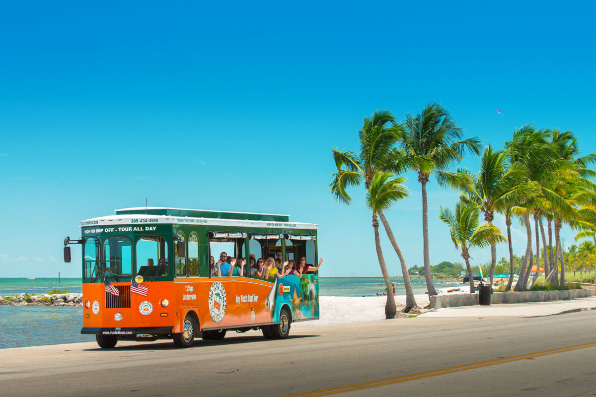 trolley tours of key west