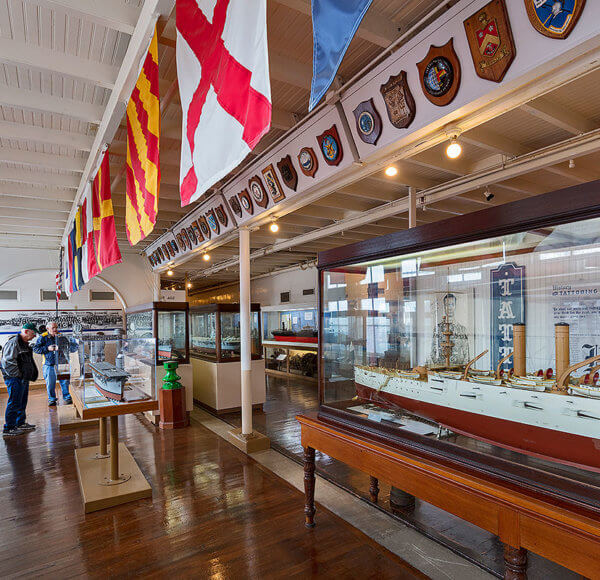 picture of san diego maritime museum display