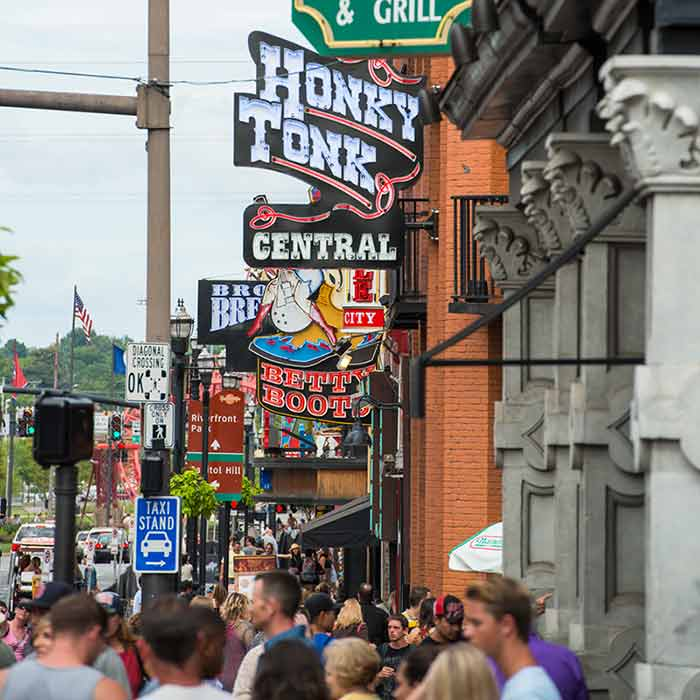Honky Tonk Central sign