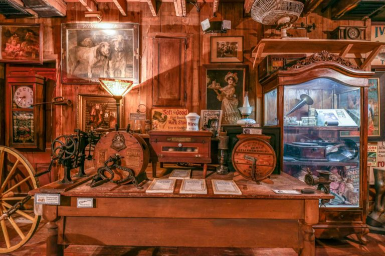 Rare artifacts in the Oldest Store of St. Augustine