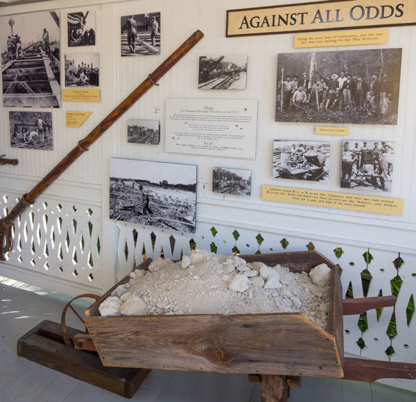 Interactive activities at Sails to Rails Museum